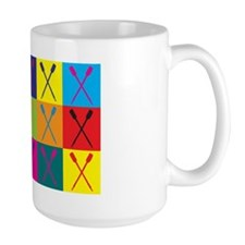 Rowing Pop Art Mug