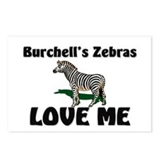 Burchell's Zebras Love Me Postcards (Package of 8)