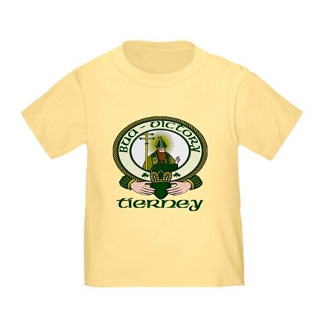 Tierney Clan Motto Toddler T-Shirt