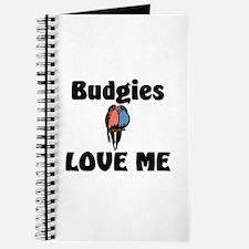 Budgies Love Me Journal