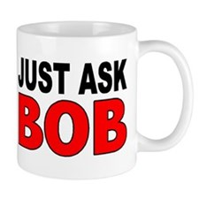 ASK BOB Small Mugs