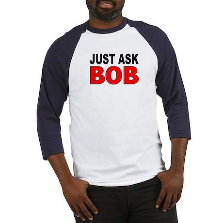 ASK BOB Baseball Jersey