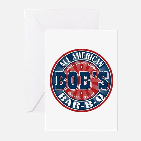 Bob's All American BBQ Greeting Cards (Pk of 10)