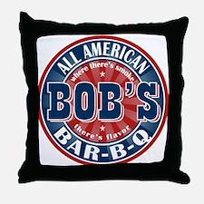 Bob's All American BBQ Throw Pillow