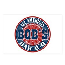 Bob's All American BBQ Postcards (Package of 8)