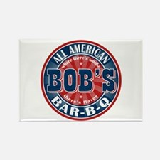 Bob's All American BBQ Rectangle Magnet (10 pack)