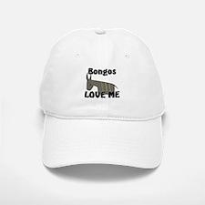 Bongos Love Me Baseball Baseball Cap