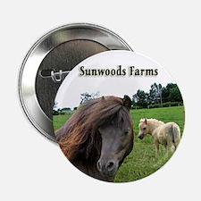 Miniature Horses Shadow Buck Button