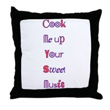 cook me up Throw Pillow