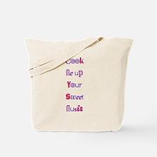 cook me up Tote Bag