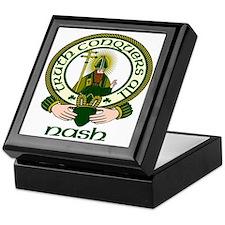 Nash Clan Motto Keepsake Box
