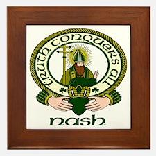 Nash Clan Motto Framed Tile