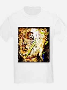 The Face of Buddha Kids T-Shirt
