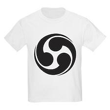 Way of the Kami; Shinto Tomoe Kids T-Shirt