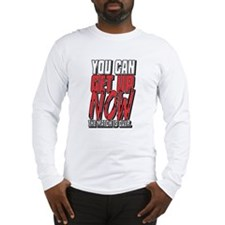 Wrestling Get Up Now Long Sleeve T-Shirt