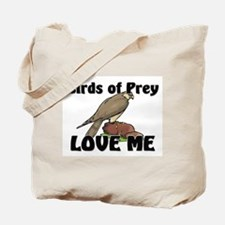 Birds Of Prey Love Me Tote Bag