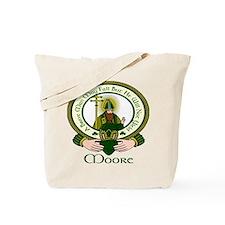 Moore Clan Motto Tote Bag