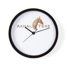 Akhal Teke Horse Wall Clock