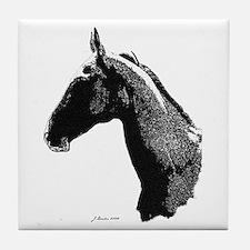 Akhal Teke Horse Tile Coaster