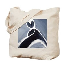 study in black white and grey Tote Bag