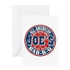 Joe's All American BBQ Greeting Card