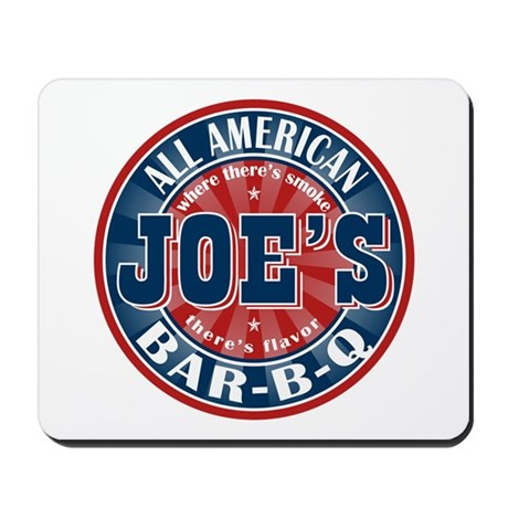Joe's All American BBQ Mousepad