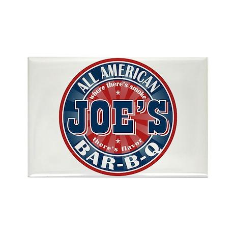 Joe's All American BBQ Rectangle Magnet (10 pack)