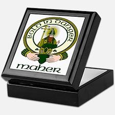 Maher Clan Motto Keepsake Box