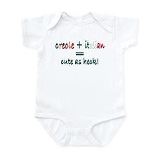 Creole Italian Cutie Infant Bodysuit