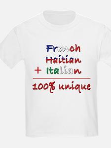 French Haitian Italian T-Shirt