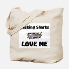Basking Sharks Love Me Tote Bag