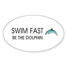 TOP Swim Slogan Decal