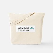 TOP Swim Slogan Tote Bag