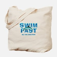 TOP Swim Slogan Tote Bag