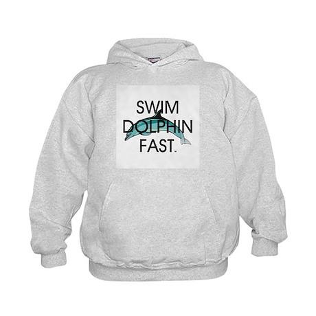 TOP Swim Slogan Kids Hoodie