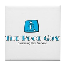 Cute Pool Tile Coaster