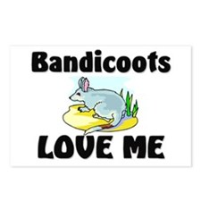 Bandicoots Love Me Postcards (Package of 8)