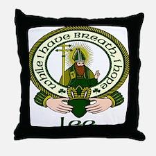 Lee Clan Motto Throw Pillow