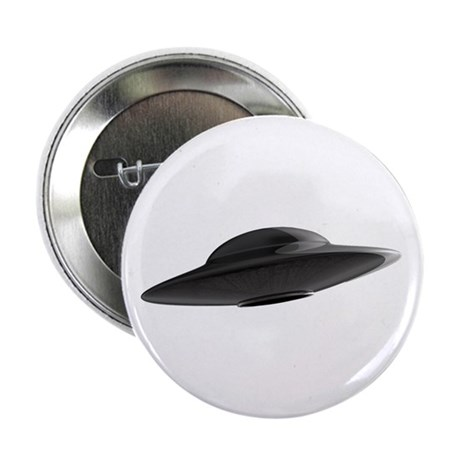 """Classic 1950s UFO 2.25"""" Button (10 pack)"""