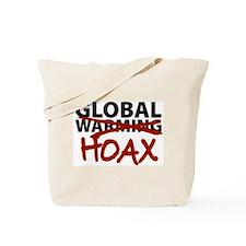 Global Warming Hoax Tote Bag