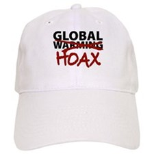 Global Warming Hoax Baseball Cap