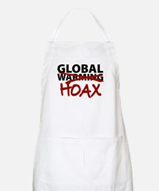 Global Warming Hoax BBQ Apron
