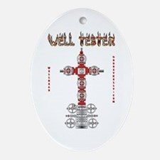 Well Tester Oval Ornament