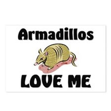 Armadillos Love Me Postcards (Package of 8)