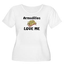 Armadillos Love Me T-Shirt