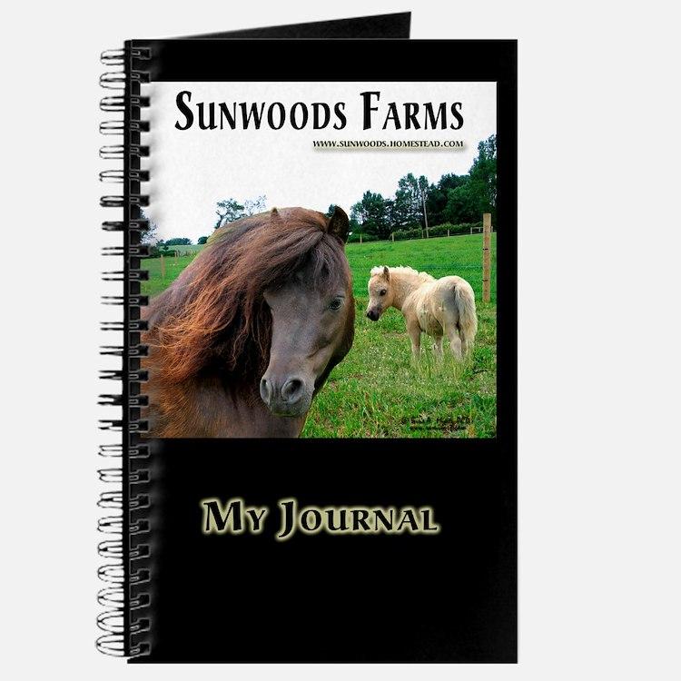 Miniature Horses Shadow Buck Journal