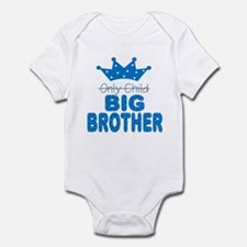 Only Child Big Brother Baby Infant Bodysuit