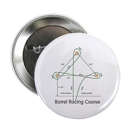 "Barrel Racing 2.25"" Button (100 pack)"