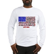 Unique U s flag Long Sleeve T-Shirt