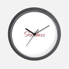 Goddess Wall Clock